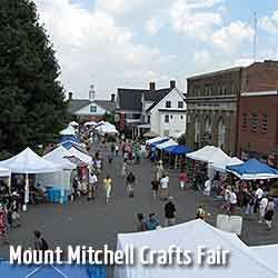 Street View of Mount Mitchell Crafts Fair