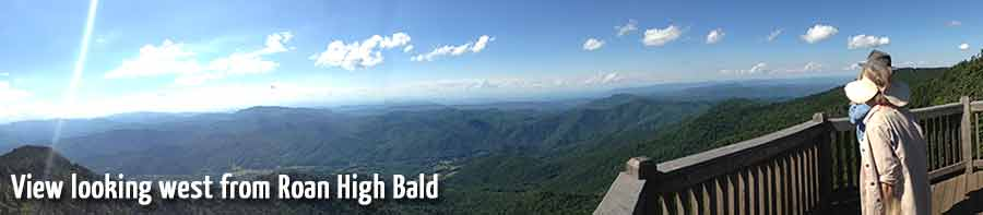 View of mountain from Roan High Bald